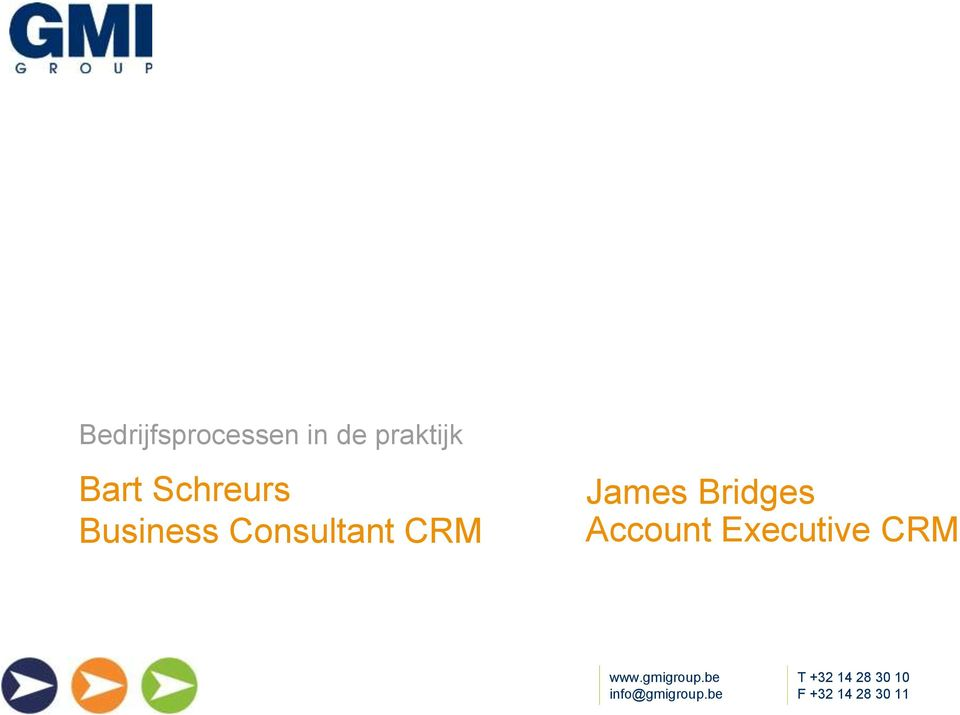 Business Consultant CRM
