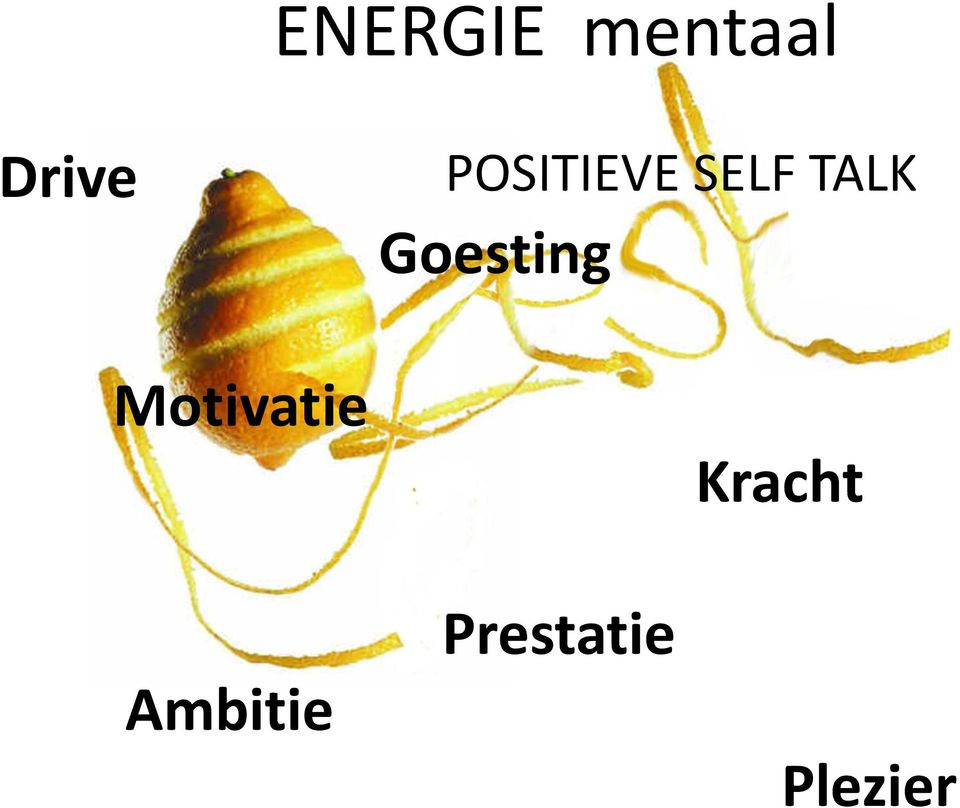 Goesting Motivatie