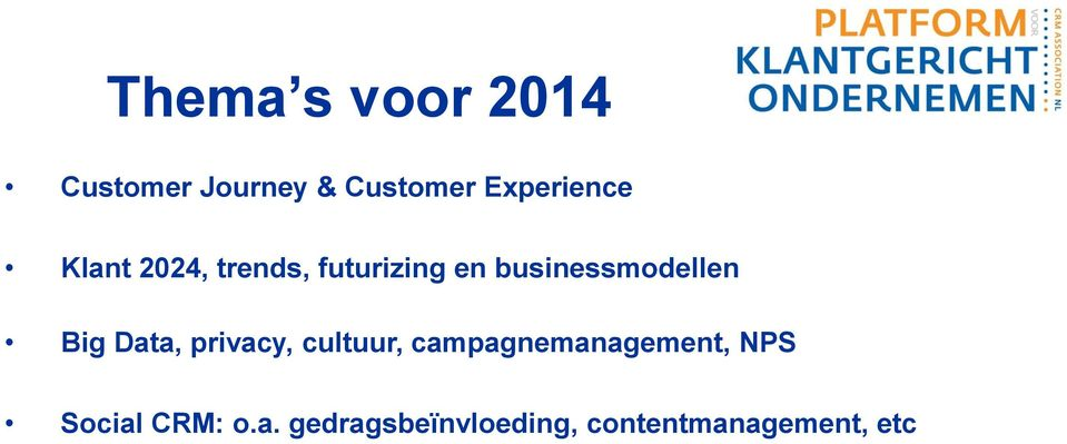 businessmodellen Big Data, privacy, cultuur,
