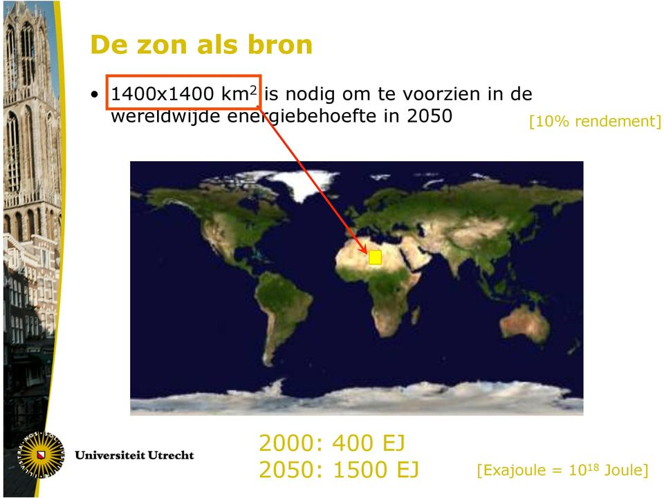 energiebehoefte in 2050 [10% rendement]