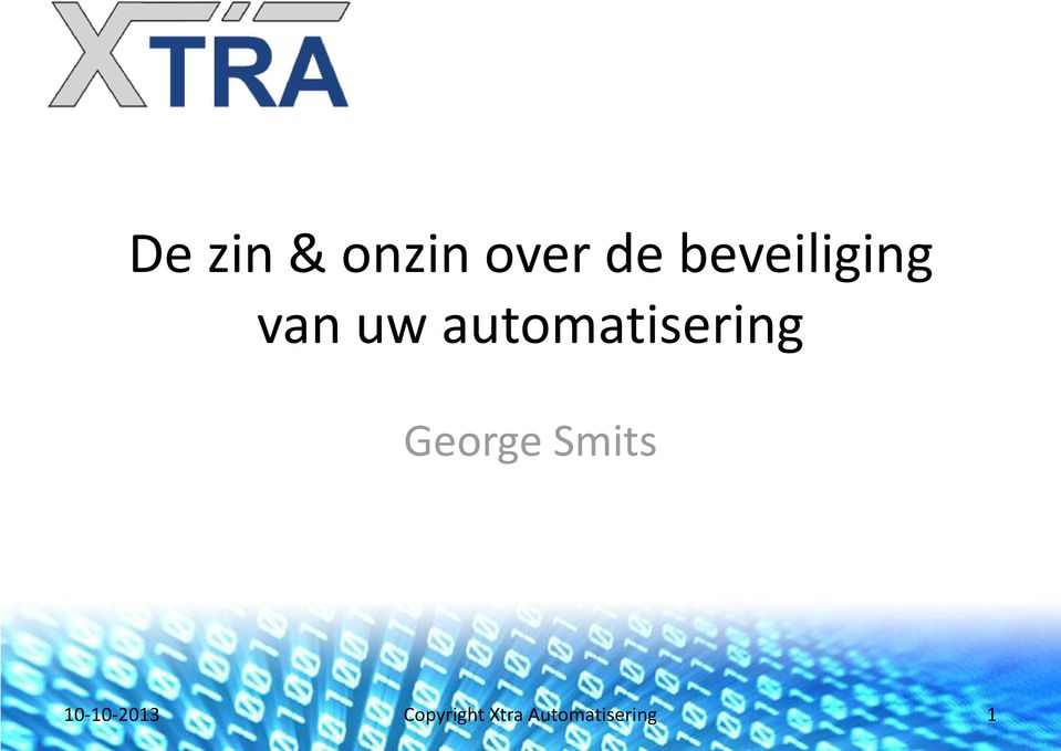 automatisering George Smits