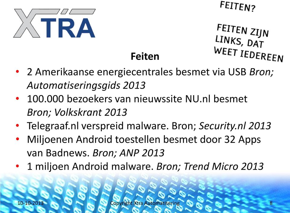 nl verspreid malware. Bron; Security.