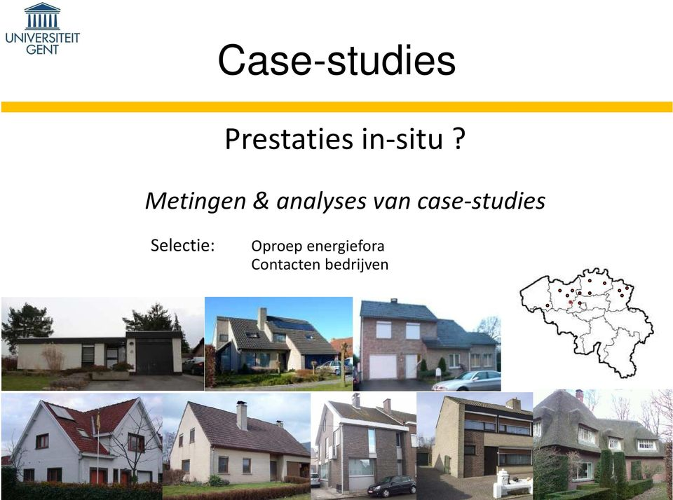 Metingen & analyses van