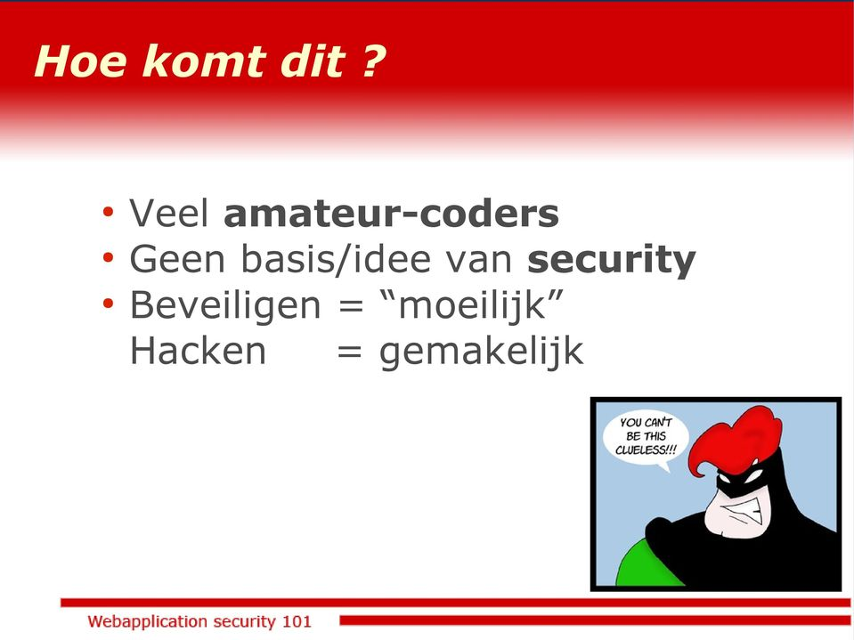 basis/idee van security