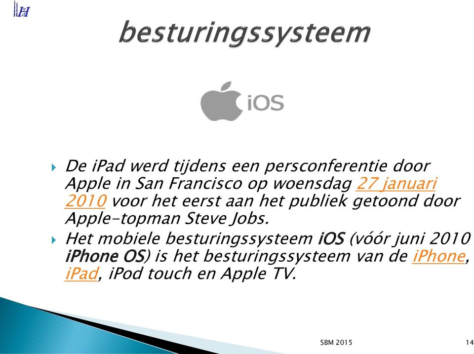 Apple-topman Steve Jobs.