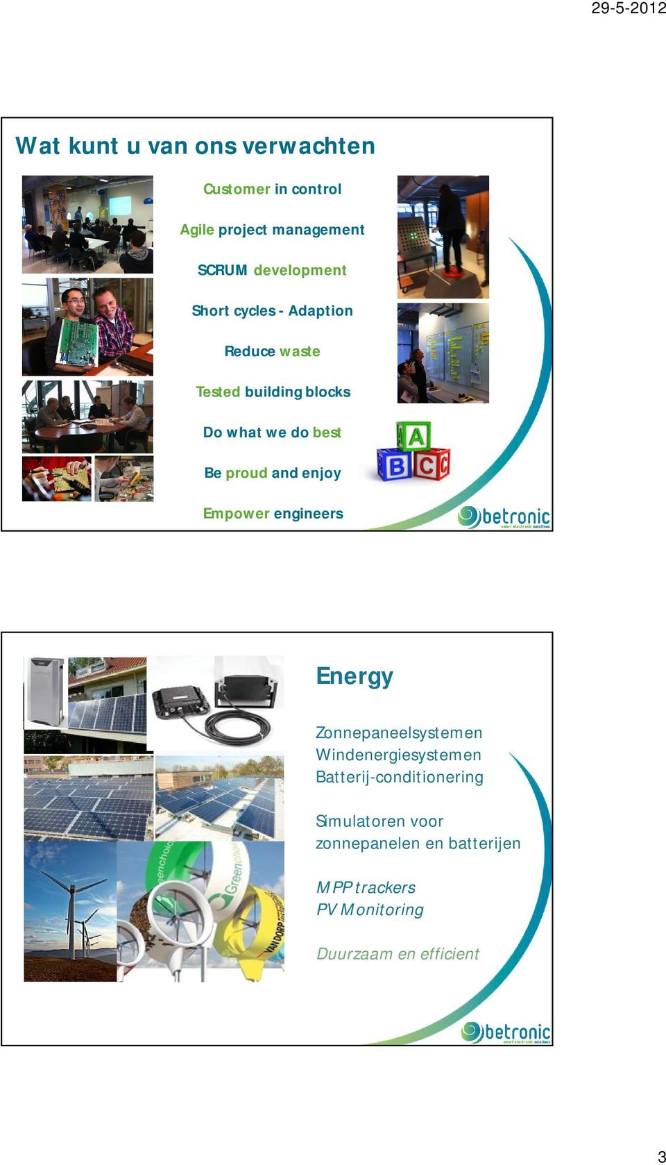 andenjoy Empower engineers Energy Zonnepaneelsystemen Windenergiesystemen
