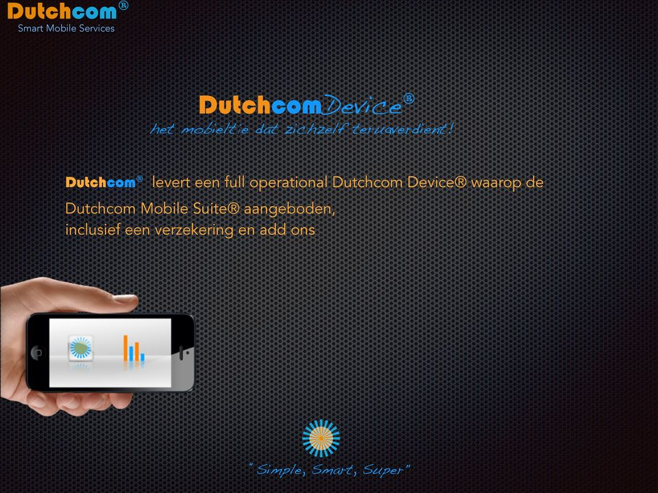 Dutchcom levert een full operational Dutchcom