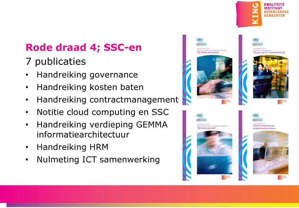 Notitie cloud computing en SSC Handreiking verdieping GEMMA