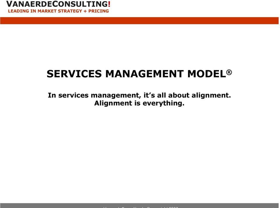 MAAGMT MODL n services