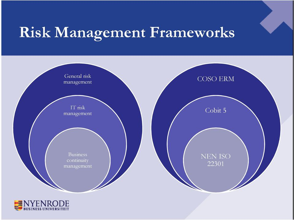 IT risk management Cobit 5