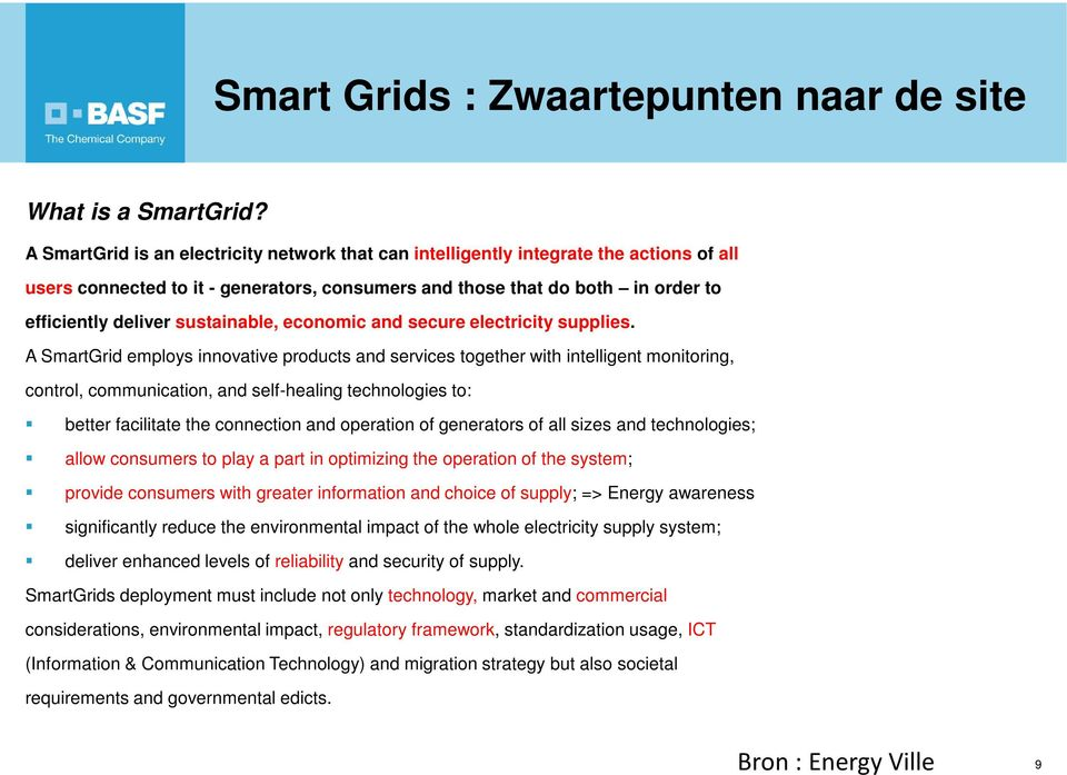 sustainable, economic and secure electricity supplies.