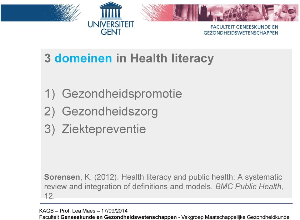 Health literacy and public health: A systematic review