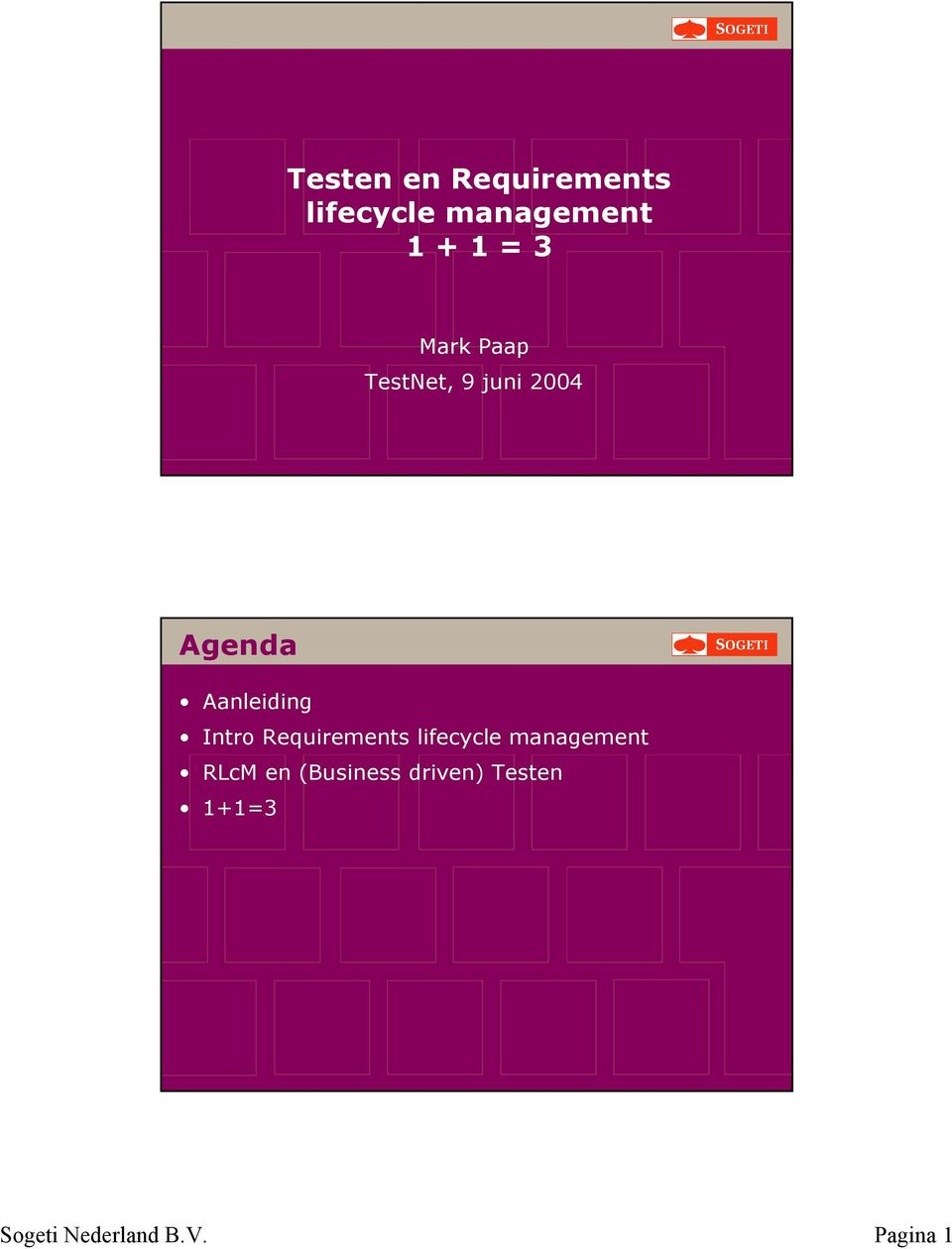 Itro Requiremets lifecycle maagemet RLcM e