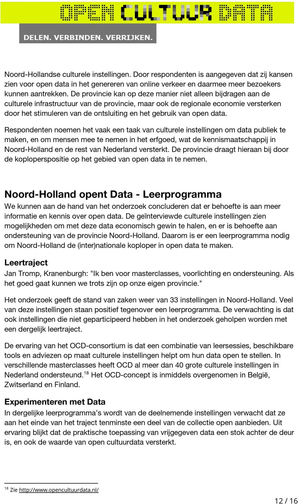 van open data.