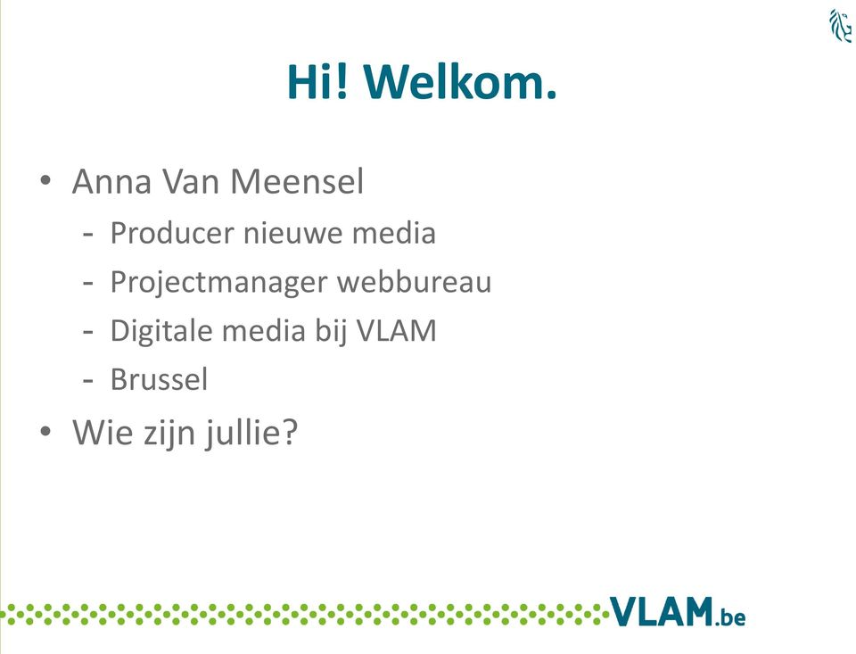 nieuwe media - Projectmanager