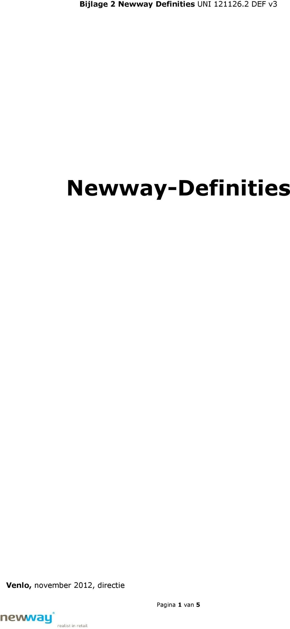 2 DEF v3 Newway-Definities