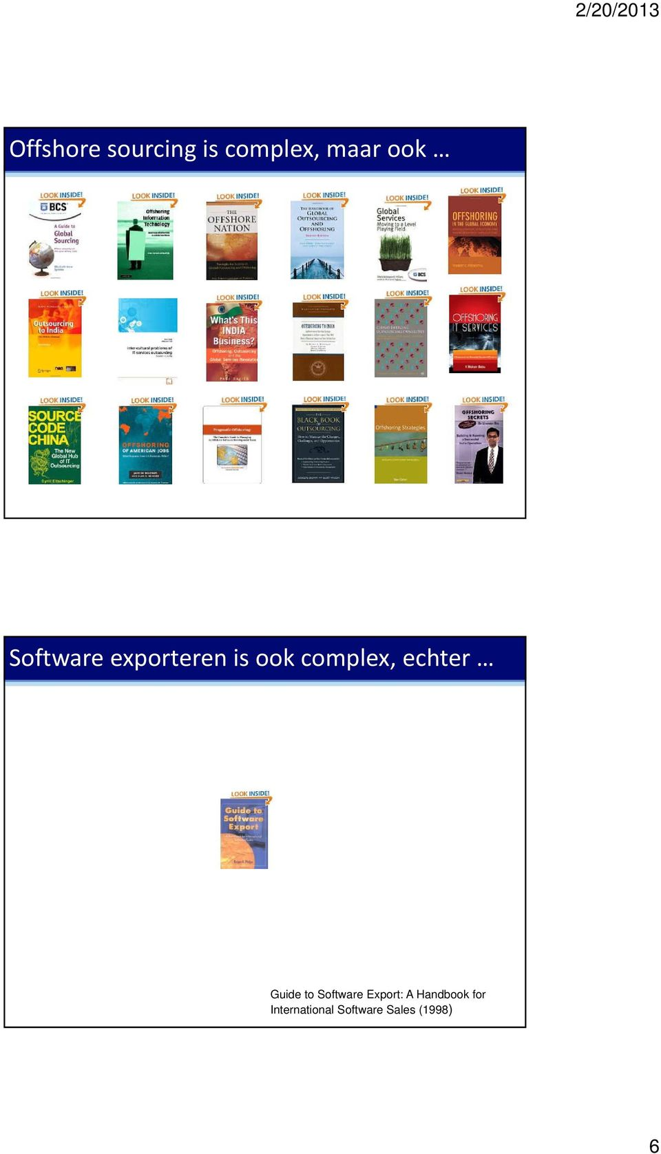 echter Guide to Software Export: A