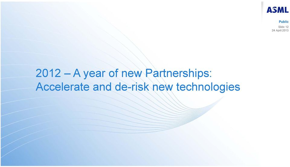 Partnerships: Accelerate