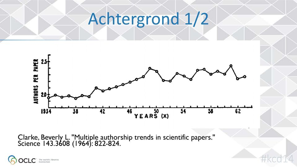 """Multiple authorship trends"