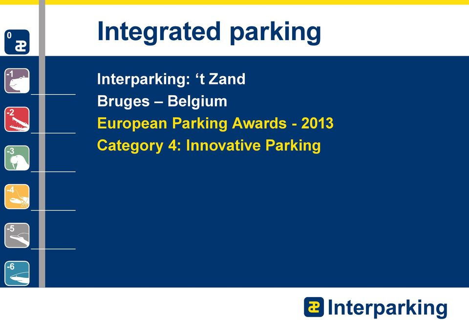 Belgium European Parking
