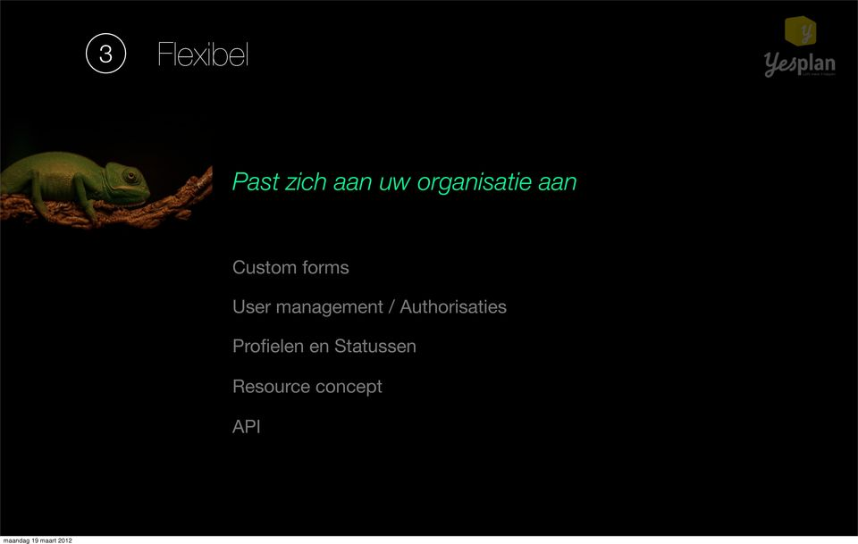 User management / Authorisaties