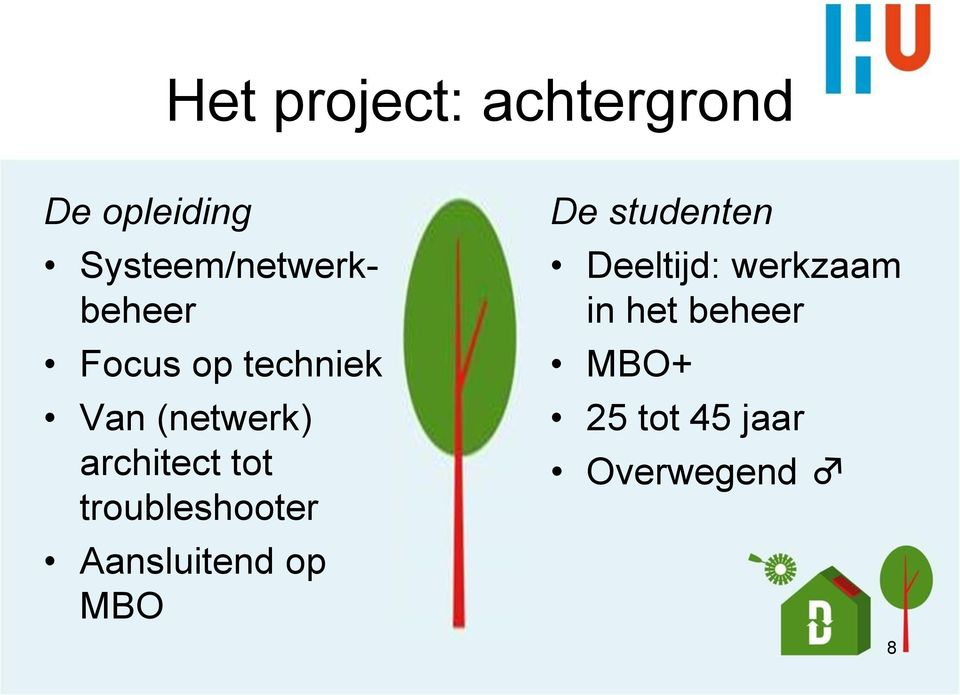 architect tot troubleshooter Aansluitend op MBO De