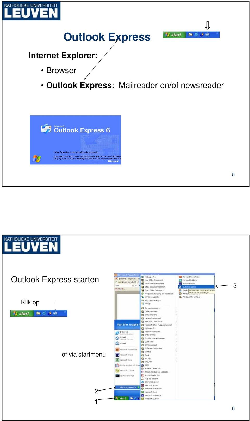 en/of newsreader 5 Outlook Express