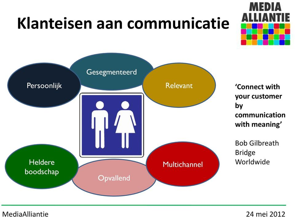 by communication with meaning Heldere boodschap