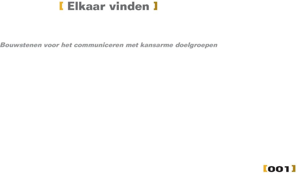 communiceren met