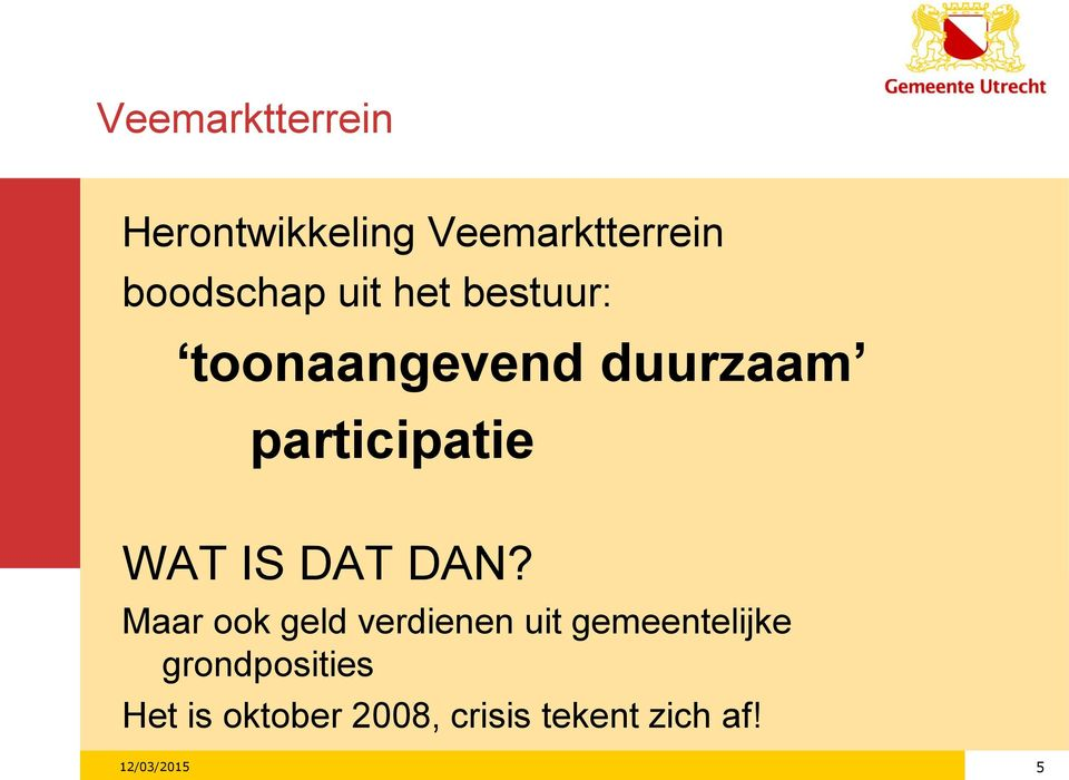 participatie WAT IS DAT DAN?
