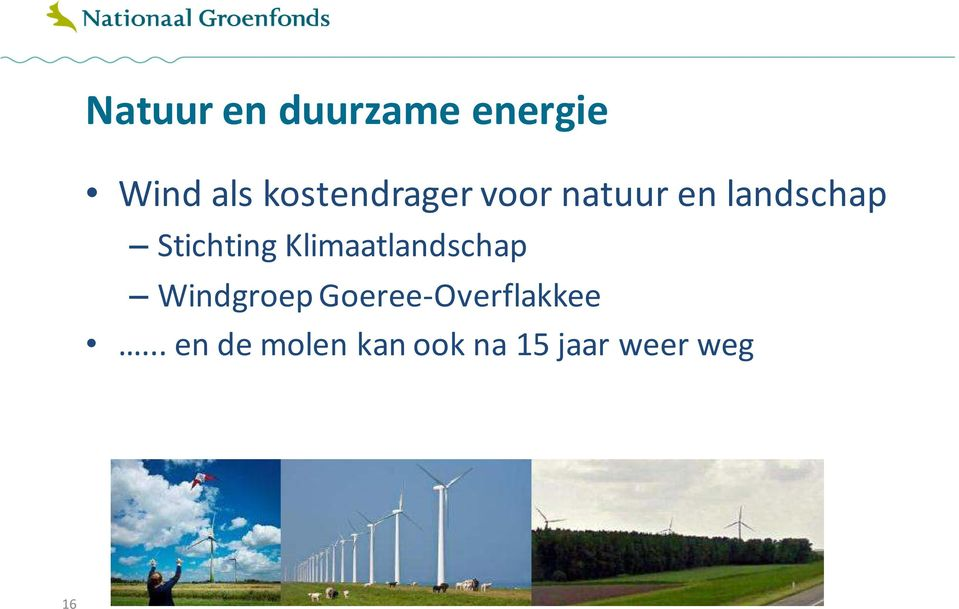 Stichting Klimaatlandschap Windgroep