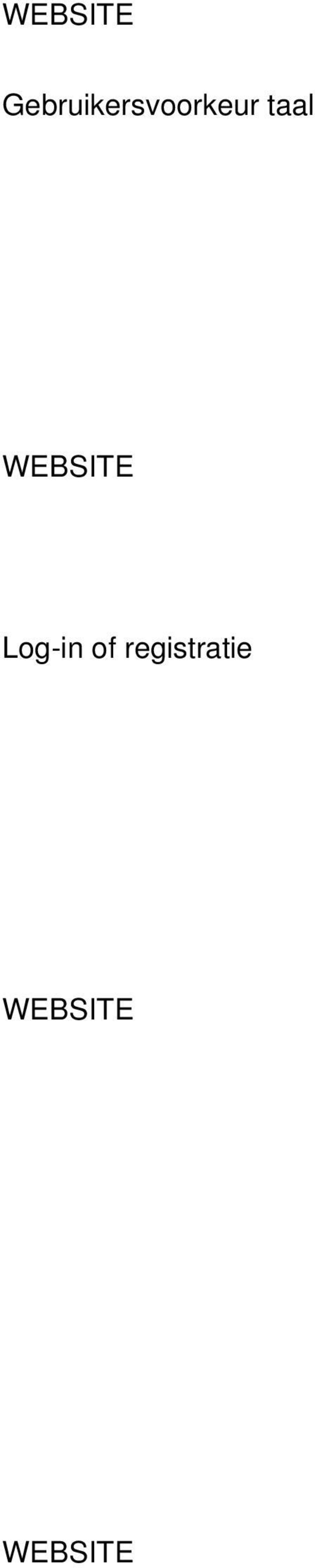 taal  Log-in of