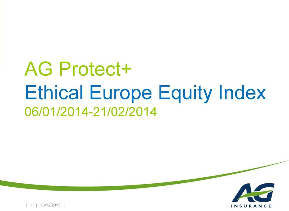 Equity Index