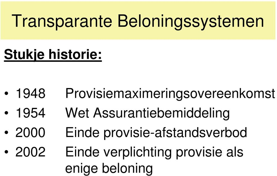 Provisiemaximeringsovereenkomst Wet