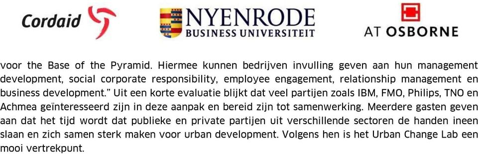 management en business development.