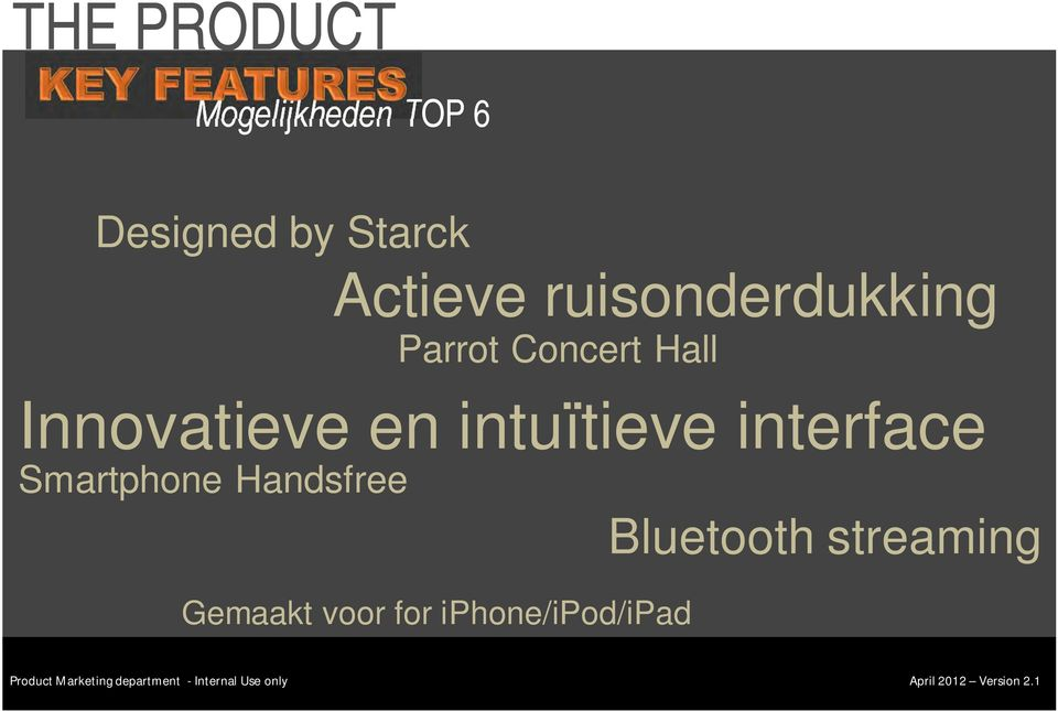Innovatieve en intuïtieve interface Smartphone