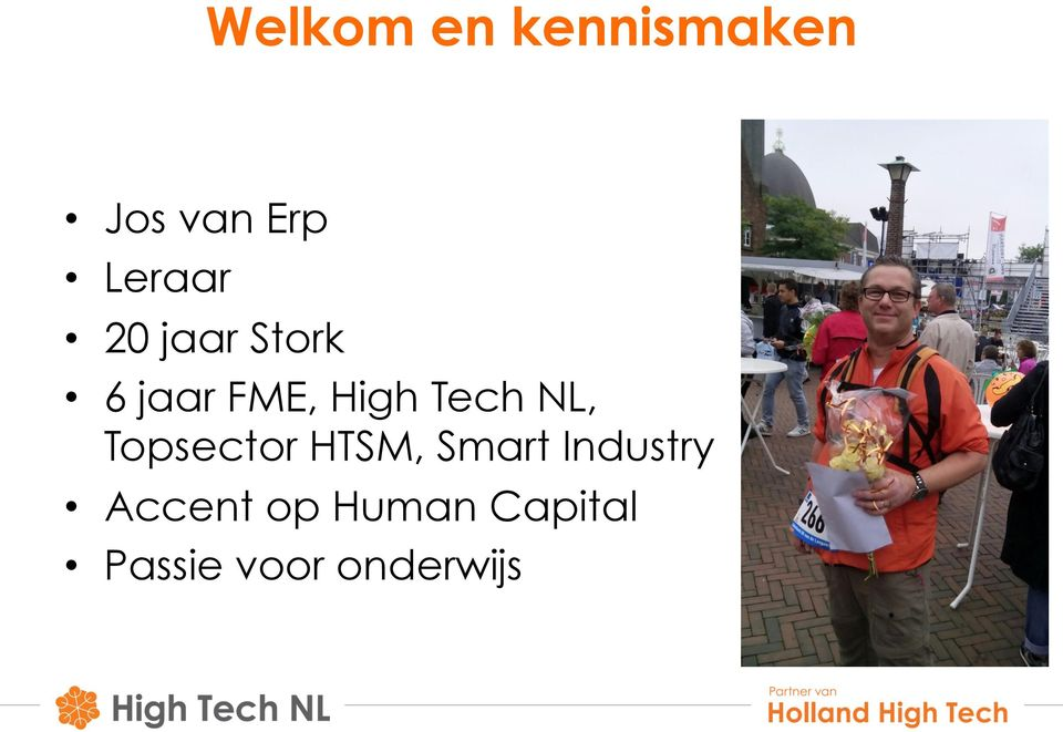Tech NL, Topsector HTSM, Smart Industry