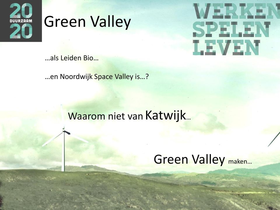 Valley is?