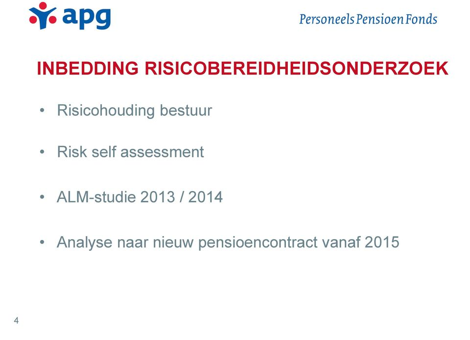 assessment ALM-studie 2013 / 2014