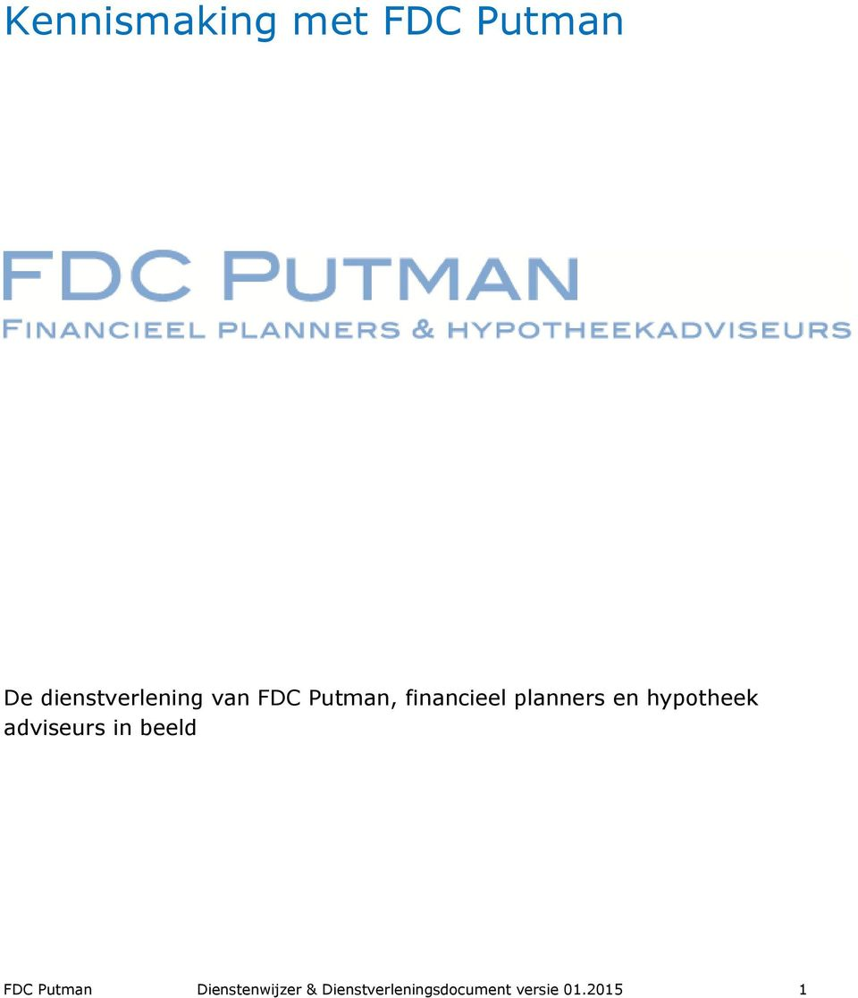 Putman, financieel planners