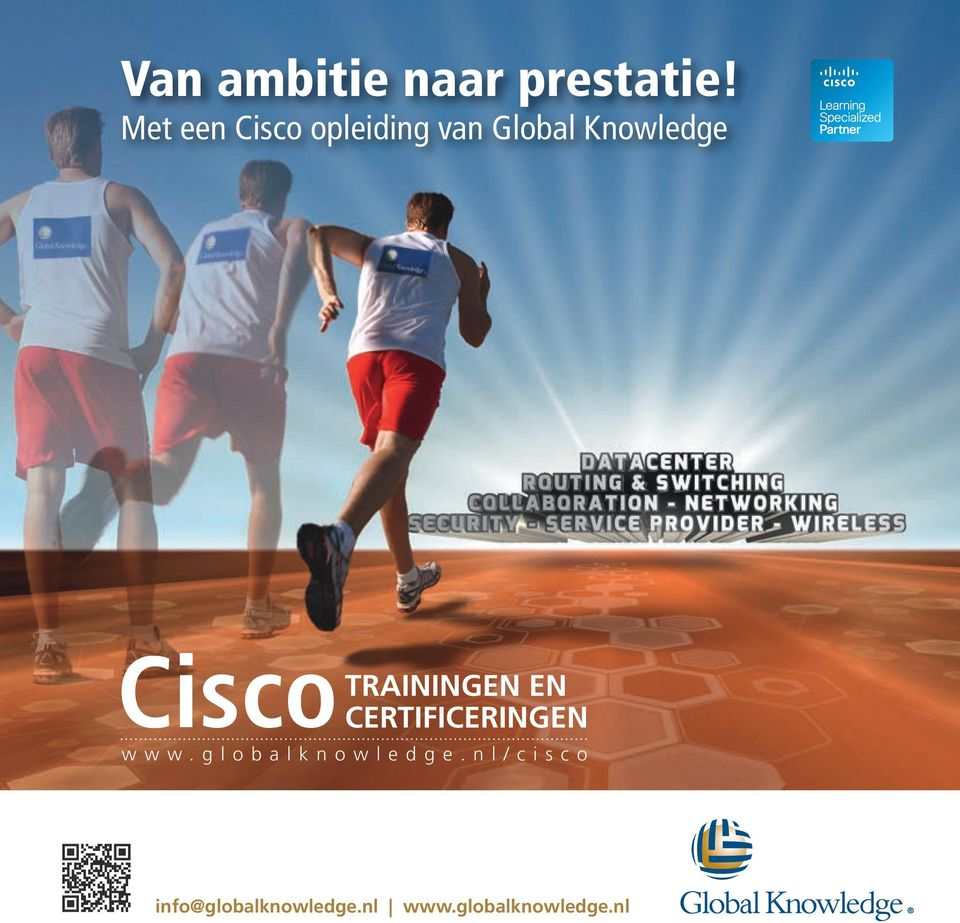 Cisco TRAININGEN EN CERTIFICERINGEN www.