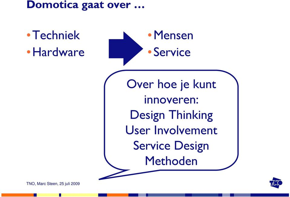 je kunt innoveren: Design
