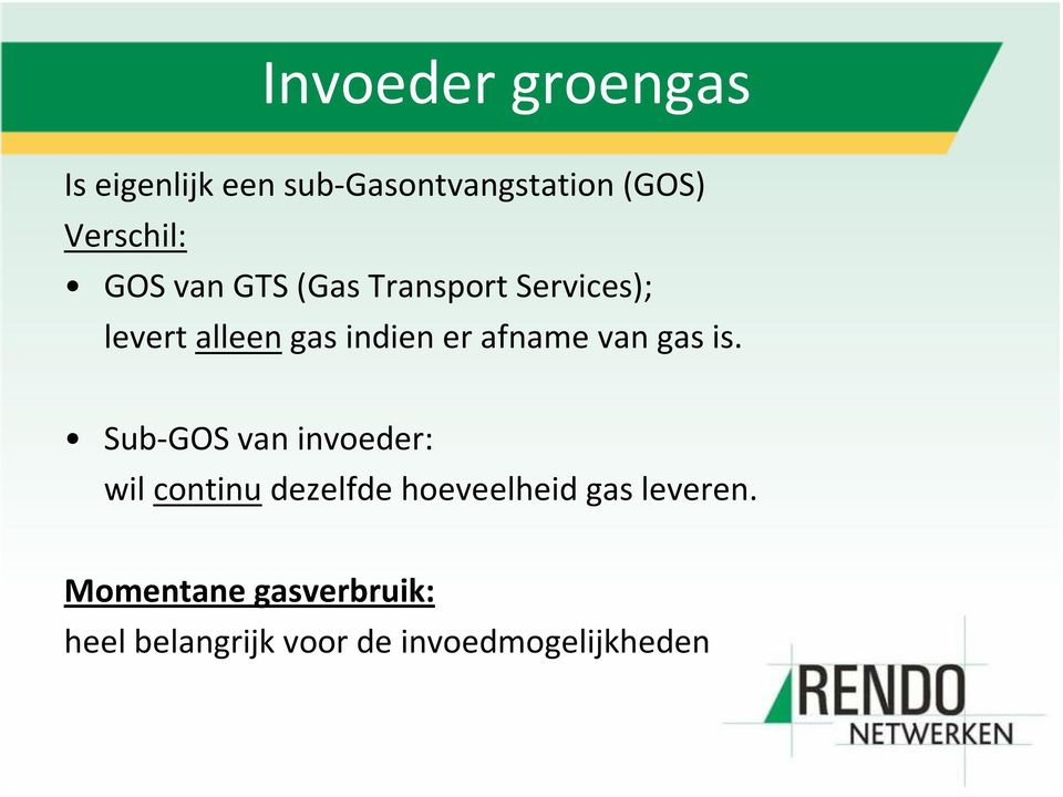 van gas is.