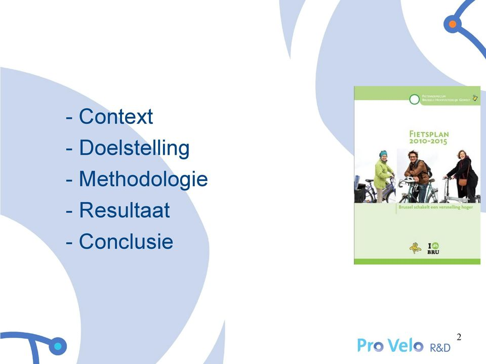 Methodologie -