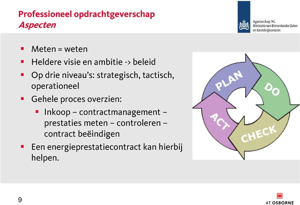 Gehele proces overzien: Inkoop contractmanagement prestaties meten