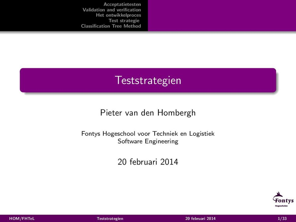 Logistiek Software Engineering 20
