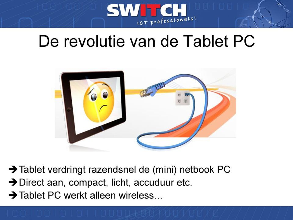 netbook PC Direct aan, compact,