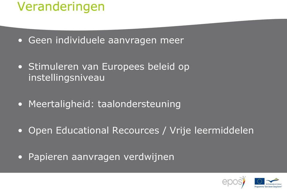 Meertaligheid: taalondersteuning Open Educational