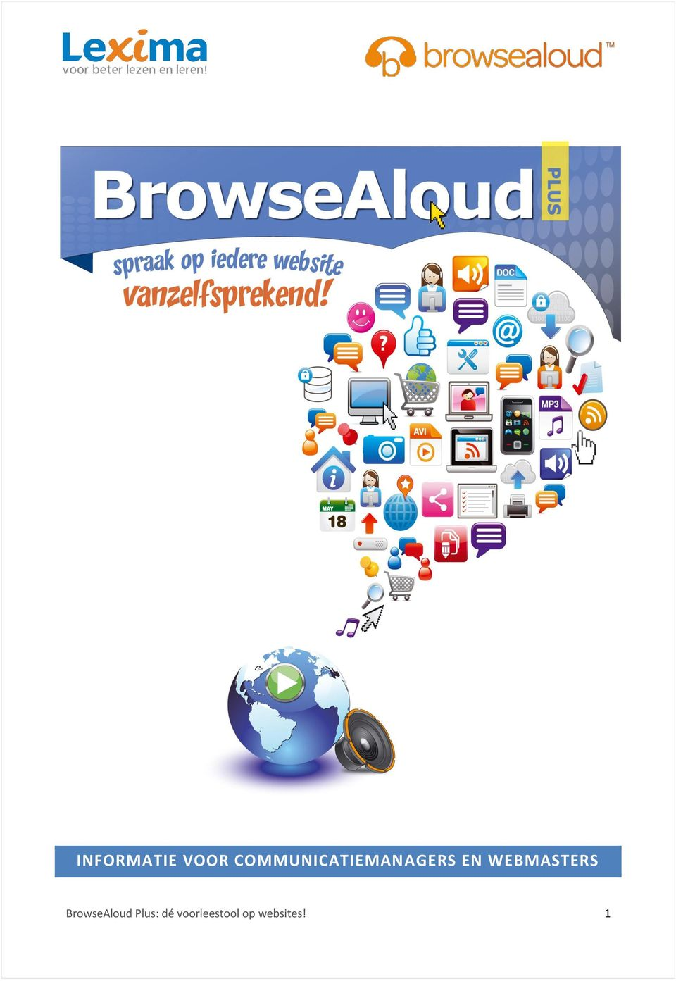 WEBMASTERS BrowseAloud