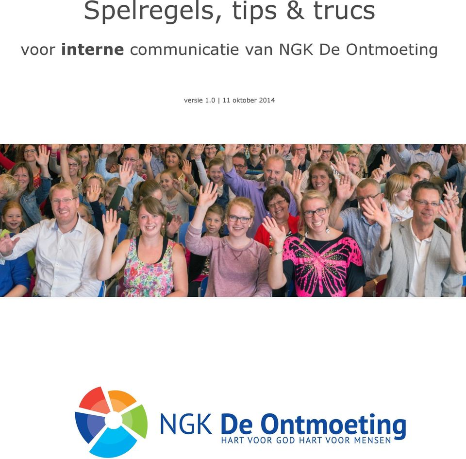 communicatie van NGK De